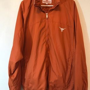 Vintage Texas Longhorns Windbreaker Sz Large